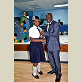 High School female of SGPAA awarded for her achievements in sports- 490A7168