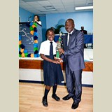 High School female of SGPAA awarded for her achievements in sports- 490A7169