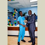 James McKinney, High School male awarded for his achievements in sports- 490A7177
