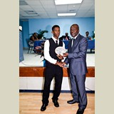 High School male of PHAHS awarded for his achievements in sports- 490A7181