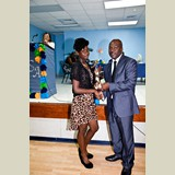 High School female awarded for her achievements in sports- 490A7182
