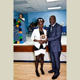 Glendria Francis, High School female awarded for her achievements in sports- 490A7183
