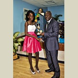 High School female of PHAHS awarded for her achievements in sports- 490A7186b