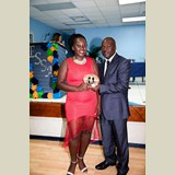 Recent graduate of the PHAHS, Ezranique Petty,  awarded for her achievements in sports- 490A7189