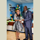 Primary School female awarded for her achievements in sports- 490A7191
