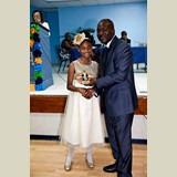 Primary School female awarded for her achievements in sports- 490A7194