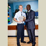 High School male of SGPAA, Kade Roberts awarded once again for his achievements in sports- 490A7201