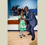 Primary School female awarded for being the Best All Around athlete in her category-490A7209