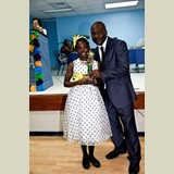 Primary School female awarded for being the Best All Around athlete in her category- 490A7210