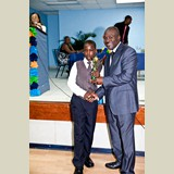 Primary School male awarded for his achievements in sports- 490A7218