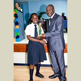 High School female of SGPAA awarded for being the Best All Around Athlete in her category- 490A7219