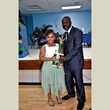 Natalia Sands of RSPS was awarded the Most Outstanding Primary School Athlete for the island of Eleuthera- 490A7235