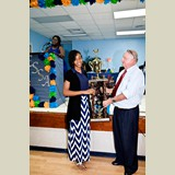 Safyha Bryan a recent graduate of CEHS was awarded the Most Outstanding Senior Athlete on the Island of Eleuthera- 490A7240