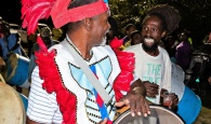 Community Junkanoo Rush, Lights Up Deep Creek South Eleuthera 2019