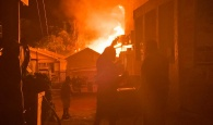 Large fire engulfs several buildings on Harbour Island