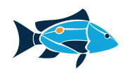 Island School Fish logo