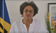 CARICOM Chairman, the Honourable Mia Amor Mottley.