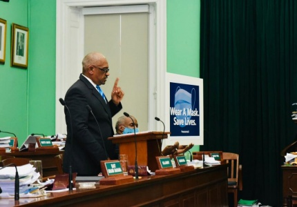 Prime Minister Minnis in House of Assembly - September 23, 2020