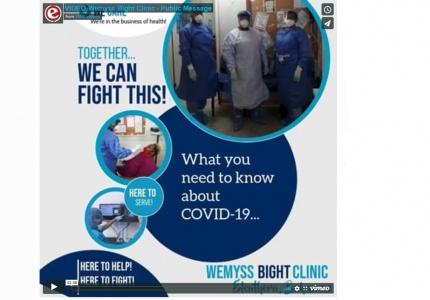 Wemyss Bight Clinic video shoot