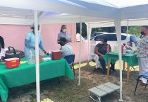 Vaccine Rollout in South Eleuthera - March 30
